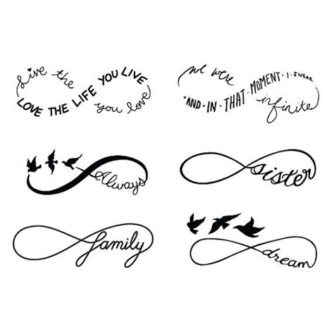 infinity tattoo design generator 55 infinity symbol tattoo designs