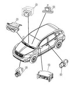 2007 Dodge Caliber Parts 2007 Dodge Caliber Air Bag Modules And Sensors
