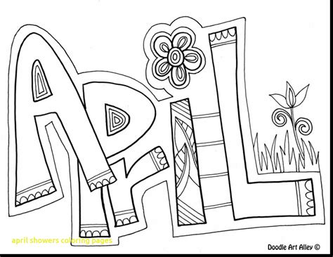 flowers of the month coloring pages april showers coloring pages with extraordinary april