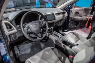 Hrv Interior 2016 Honda Hr V Crossover Price Release Date 2016 2017