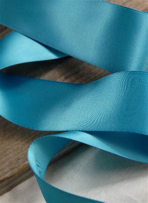 "Teal Blue Satin 50 yds (DF) 1.5"" Width Ribbon"