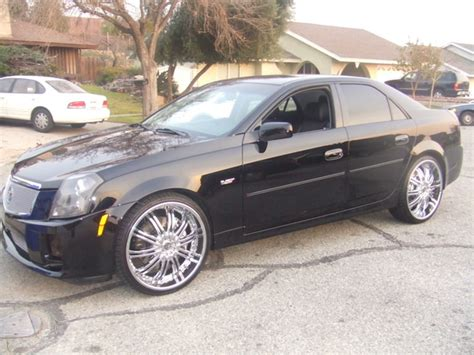 cadillac cts 2005 rims cadillac cts with 22 inch rims images