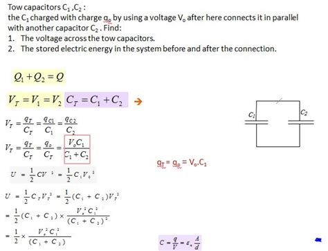 afterward what is the potential difference across c1 capacitor afterward what is the charge on c1 capacitor 28 images calculate the charge on capacitor c1