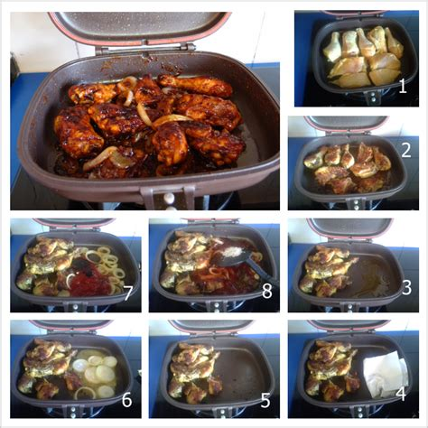 membuat martabak manis dengan happy call masakan melly buffalo chicken using happy call pan