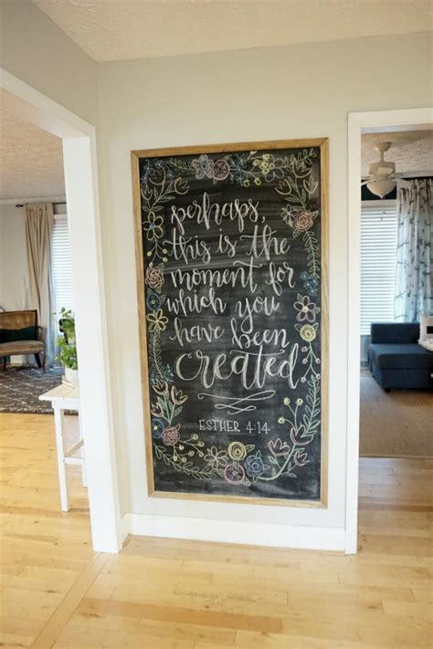new ideas diy dining room wall art let me show you how to make 15 creative chalkboard diys for your kitchen shelterness