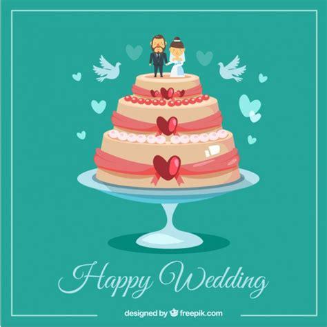 Wedding Cake Vector by Happy Wedding Cake Vector Free