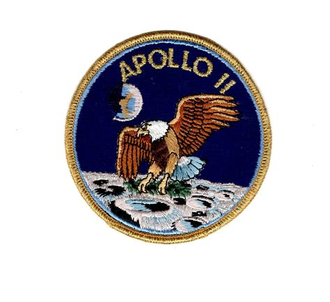 apollo mission patches ebay nasa apollo ii apollo 2 mission patch unmanned module new
