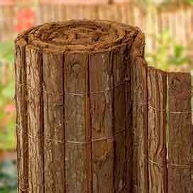 Sichtschutz Terrasse G Nstig 272 by Heidematten Weidenmatten Rindenholzmatten