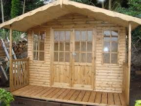 Cladding Sheds by Log Cladding Mb Garden Building
