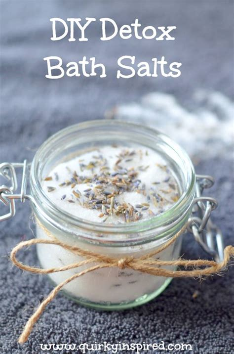 How To Detox From Bath Salts by How To Make Bath Salts Detox Salts