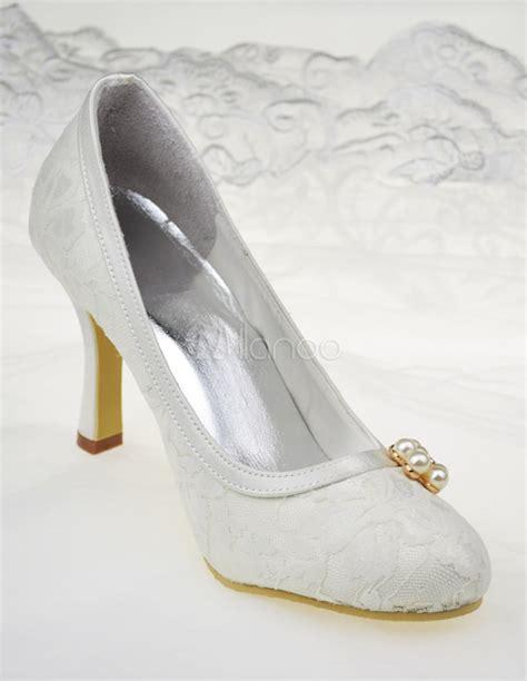レディース靴 結婚式 パンプス アイボリー パーティー 美脚 新作 ラウンドトゥ スティレットヒール 9cm