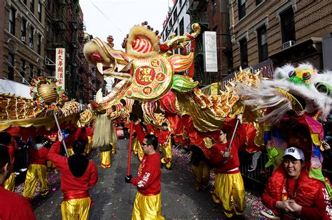 new year parade nyc 17th chinatown lunar new year parade festival in new