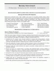 sample resumes business development resume or sales managemnent