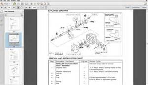 2004 yamaha ar230 sr230 sx230 boat service manual