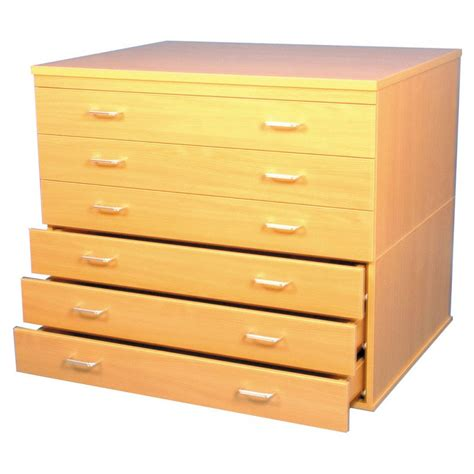 Paper Drawers by A1 Paper Storage 6 Drawers