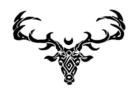 stag tribal by ragatikas on deviantart