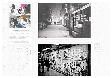 tumblr themes monochrome monochrome themes tumblr