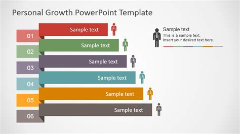 plan on a page template powerpoint personal growth plan outline for powerpoint slidemodel