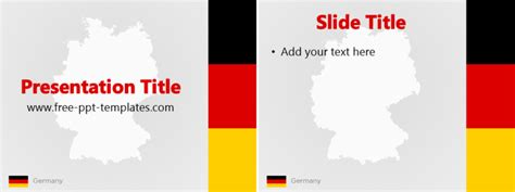 Germany Ppt Template Free Powerpoint Templates Germany Powerpoint Template