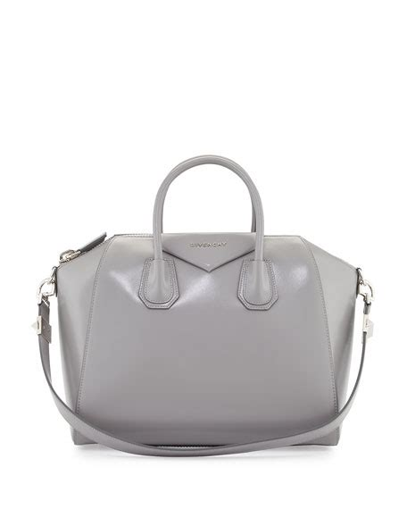 Givenchy Antigona Calfskin Hardware Medium 566b With Clutch Sz 27cm givenchy small antigona glazed calfskin leather satchel