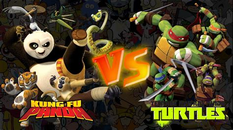 film kung fu vs ninja kung fu panda vs as tartarugas ninja batalha de rap