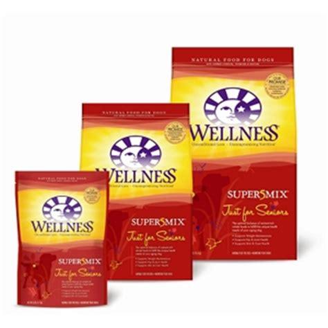 wellness senior food wellness super5mix senior food 6 lb vetdepot