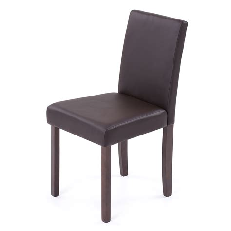 Leather And Wood Dining Chairs Set Of 2 4 6 8 Leather Wood Contemporary Dining Chairs Home Room Q2u0 Ebay