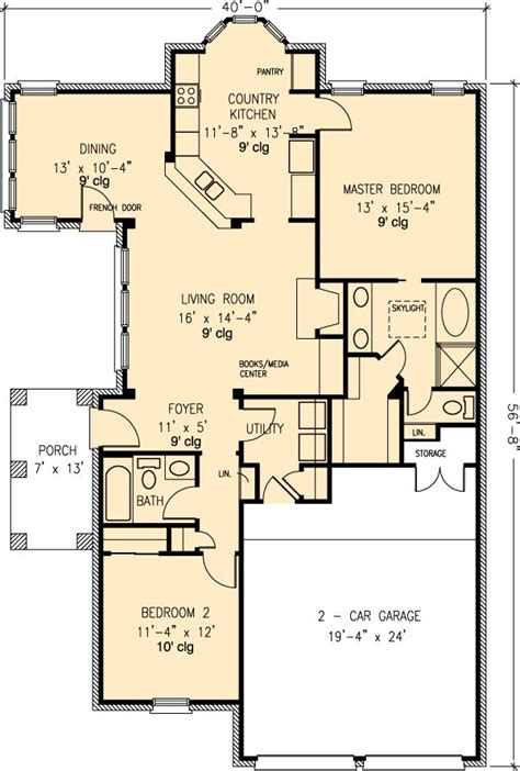 downsizing ranch houses options the house designers 323 best images about floor plans downsizing on