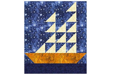 Free Patchwork Block Patterns - ships an easy patchwork quilt block pattern