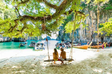bangkok to krabi by boat koh hong island tour by speed boat from krabi relaxing tour