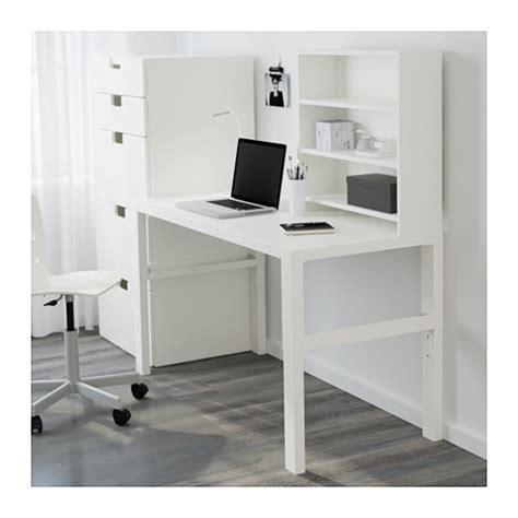 ikea pahl p 197 hl bureau avec tablette blanc ikea