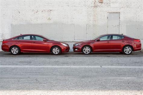 Kia Optima Versus Hyundai Sonata Hyundai Sonata Vs Kia Optima Qual 233 O Melhor Blogauto