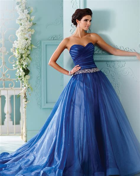 Buy Wedding Gown by Popular Royal Blue Wedding Gowns Buy Cheap Royal Blue