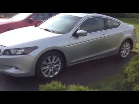Stop L Honda Accord 2014 Up 2009 honda accord ex l v6 coupe start up