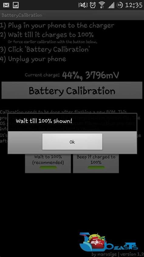android battery calibration how to calibrate battery on android techbeasts