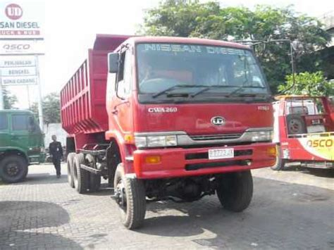 nissan truck diesel modifikasi nissan diesel ud truck dari 6x4 menjadi 6x6