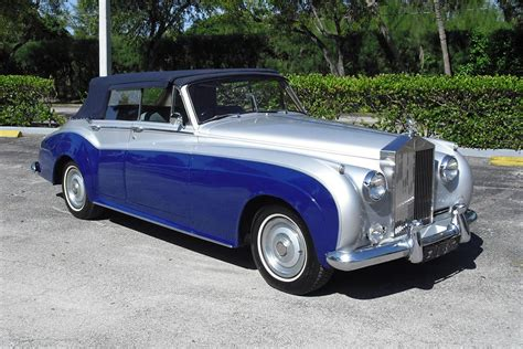 1962 rolls royce 4 door custom convertible 88982