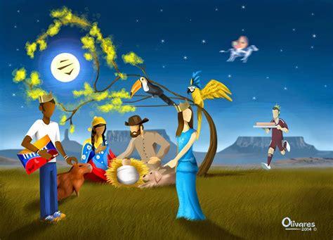 imagenes navidad venezuela pesebre venezolano oscar olivares
