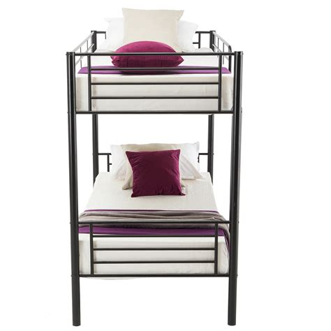 metal frame bunk beds metal bunk beds frame twin over twin ladder bedroom dorm