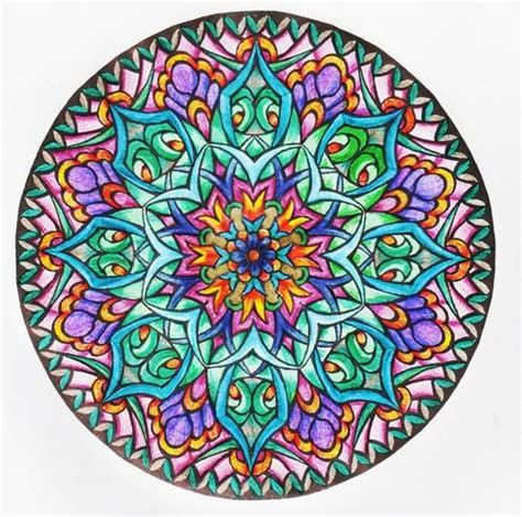 mystical mandala coloring book 0486456943 customer image gallery for mystical mandala coloring book dover design coloring books