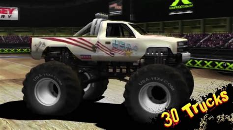 monster truck videos you tube monster truck destruction youtube
