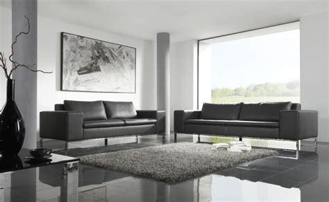 canap駸 design sold駸 soldes canap 233 cuir hiro design couleur gris graphit en