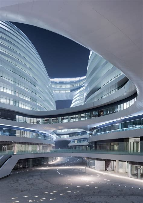 architects design galaxy soho zaha hadid architects updated the superslice