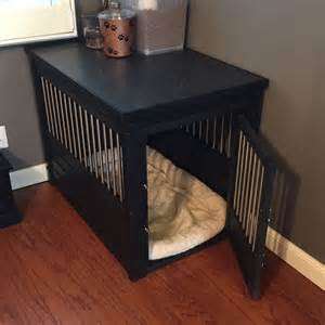 Wooden Dog Crate End Table Dog Kennel End Table Crate For Extra Large Dogs Xl Indoor