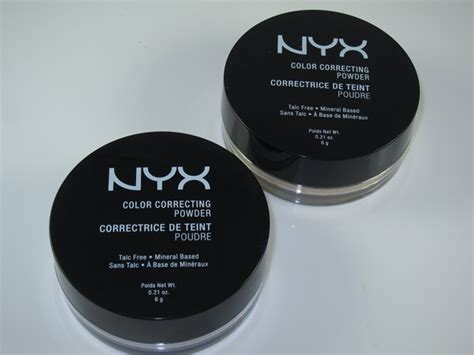 color correcting powder nyx color correcting powder review swatches musings of