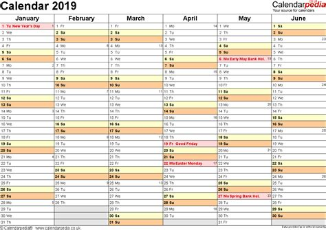 printable year calendar uk calendar 2019 uk 16 free printable pdf templates