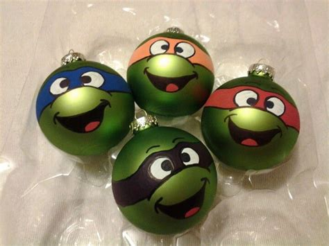 teenage mutant ninja turtles ornaments ornaments pinterest