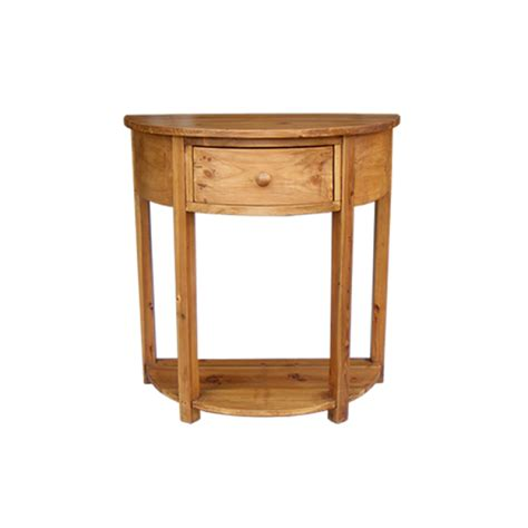Pine Console Table Rustic Pine Console Table