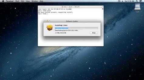 tutorial java mac os x install the java development kit jdk on mac os x youtube
