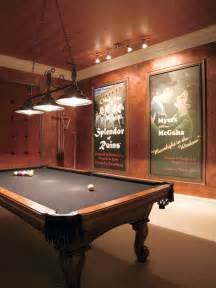 pool table room houzz